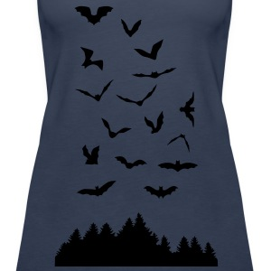 Bats & Wood - Women's Premium Tank Top