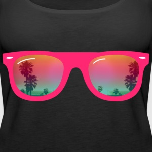sunglasses summer Tops - Women's Premium Tank Top