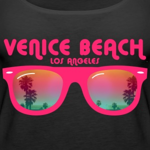 Venice Beach Los Angeles Tops - Women's Premium Tank Top