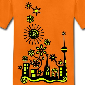 Guerilla Gardening!, c, Auf die Plätze - Saatbombe los! Let's fight the filth with forks and flowers! Barn-T-shirts - Premium-T-shirt barn