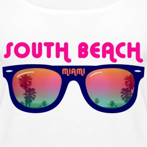 South Beach Miami Tops - Women's Premium Tank Top