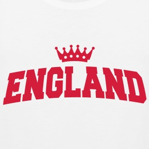 england with crown T-Shirts - Männer Premium Tank Top
