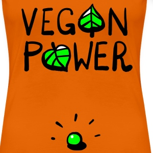 Vegan Power Pea T-Shirts - Women's Premium T-Shirt