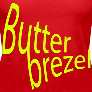 Butterbrezel Tops - Frauen Premium Tank Top