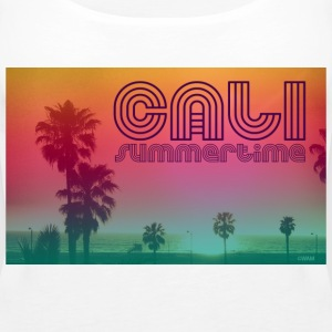 california summertime Topper - Premium singlet for kvinner