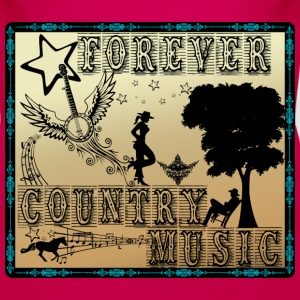 forever country music Tops - Women's Premium Tank Top