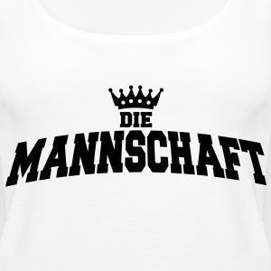 die mannschaft with crown Tops - Frauen Premium Tank Top