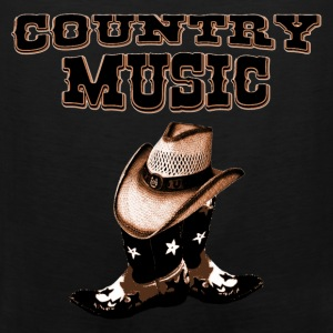 country music Camisetas - Tank top premium hombre