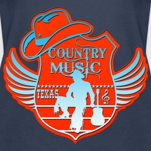 country music texas Tops - Women's Premium Tank Top