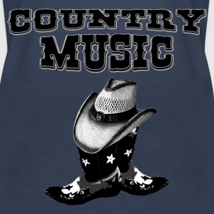 country music Tops - Women's Premium Tank Top