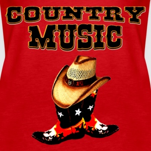 country music Tops - Frauen Premium Tank Top