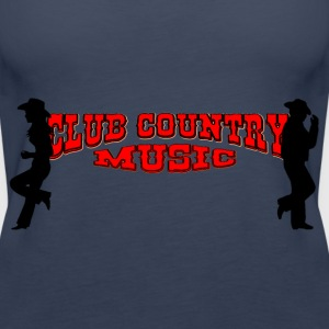 club country music Tops - Frauen Premium Tank Top