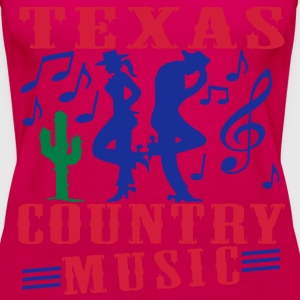 texas country music Tops - Women's Premium Tank Top