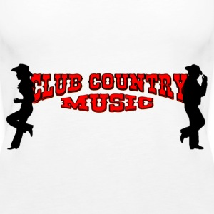 club country music Tops - Women's Premium Tank Top