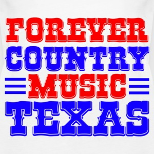 forever country music texas Tops - Frauen Premium Tank Top
