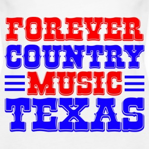 forever country music texas Tops - Vrouwen Premium tank top