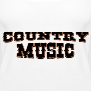 country music Tops - Camiseta de tirantes premium mujer