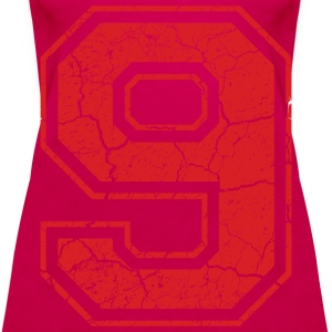 9_nine_neun_red_rot (uk) Tops - Women's Premium Tank Top