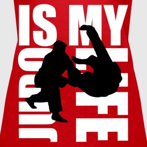 judo is my life Topper - Premium singlet for kvinner