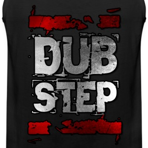 I Love Dubstep Music  T-Shirts - Männer Premium Tank Top