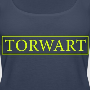 Torwart Tops - Frauen Premium Tank Top