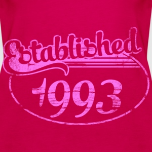 Geburtstag - established 1993 dd (de) Tops - Frauen Premium Tank Top