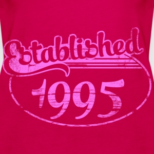 established 1995 dd (es) Tops - Camiseta de tirantes premium mujer