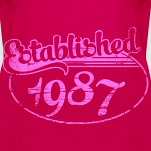 Geburtstag - established 1987 dd (de) Tops - Frauen Premium Tank Top