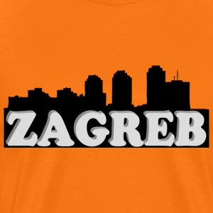 Zagreb 3d - Men's Premium T-Shirt