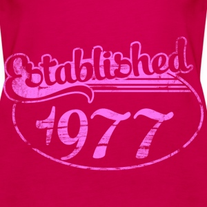 established 1977 dd (uk) Tops - Women's Premium Tank Top