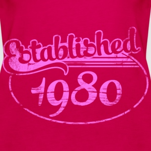 Geburtstag - established 1980 dd (de) Tops - Frauen Premium Tank Top