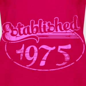 Geburtstag - established 1975 dd (de) Tops - Frauen Premium Tank Top