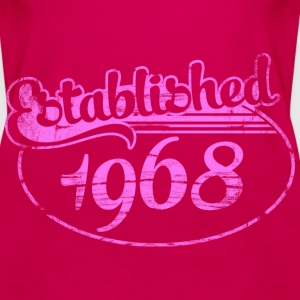Geburtstag - established 1968 dd (de) Tops - Frauen Premium Tank Top