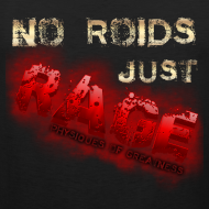 Design ~ No Roids- Red Tank