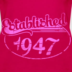 Geburtstag - established 1947 dd (de) Tops - Frauen Premium Tank Top