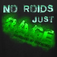 Design ~ No Roids- Green Tank