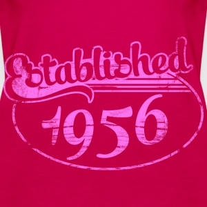 established 1956 dd (es) Tops - Camiseta de tirantes premium mujer