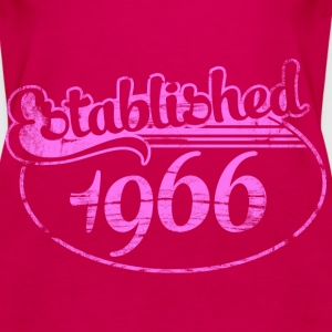established 1966 dd (es) Tops - Camiseta de tirantes premium mujer