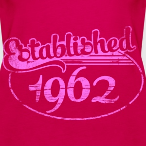 Geburtstag - established 1962 dd (de) Tops - Frauen Premium Tank Top