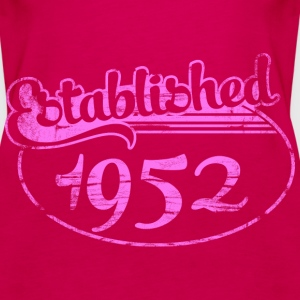 Geburtstag - established 1952 dd (de) Tops - Frauen Premium Tank Top