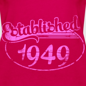 established 1949 dd (es) Tops - Camiseta de tirantes premium mujer