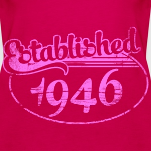 Geburtstag - established 1946 dd (de) Tops - Frauen Premium Tank Top