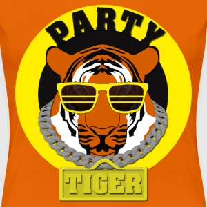 Party Tiger T-shirts - Dame premium T-shirt