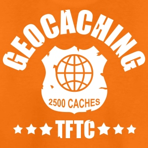 geocaching - 2500 caches - TFTC / 1 color Tee shirts - T-shirt Premium Ado