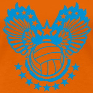 Orange volleyball T-Shirts - Women's Premium T-Shirt