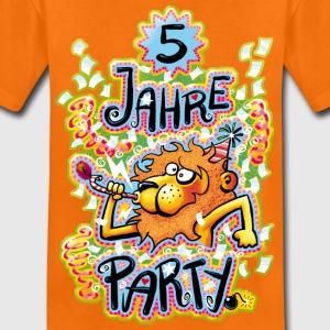 5 Jahre Party - Kinder Premium T-Shirt