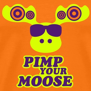 Pimp your Moose T-skjorter - Premium T-skjorte for menn
