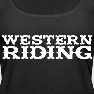 Western Riding Tops - Women's Premium Tank Top
