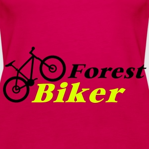 forest biker Tops - Frauen Premium Tank Top
