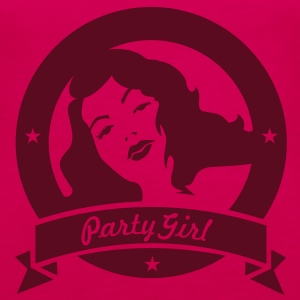 party girl (1c) Tops - Women's Premium Tank Top